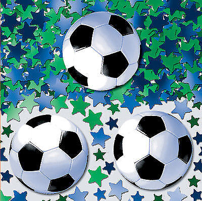 Fußball Konfetti WM EM Fußball Dekoration Soccer Champions League