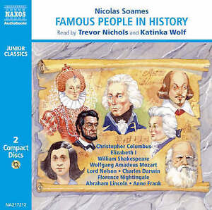 Famous People in History Soames Nicolas - <span itemprop=availableAtOrFrom>Fairford, United Kingdom</span> - Please return with 7 days of receipt. Postage will not be refunded. Item must be in original condition. Most purchases from business sellers are protected by the Consumer Contract Regula - Fairford, United Kingdom