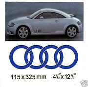 Audi Rings Stickers