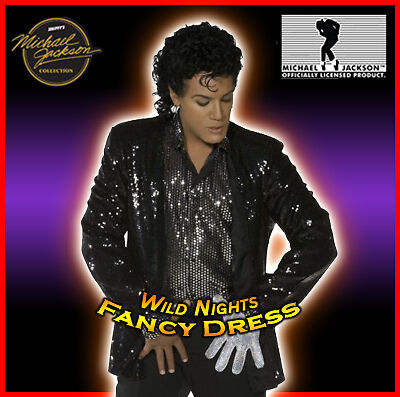 FANCY DRESS MICHAEL JACKSON BILLIE JEAN COSTUME LG/XL (Michael Jackson Kostüme Billie Jean)