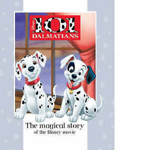 Disney-Magical-Story-101-Dalmatians-Disney-Book-of-the-Film-Very-Good-Book