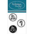 Technique Tuesday Rubber Craft Stamps