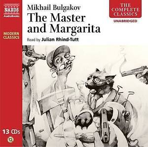 The Master and Margarita (Modern Classics) 13 Audio CD – Unabridged REF:342