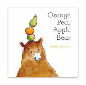 """VERY GOOD"" Orange Pear Apple Bear, Gravett, Emily, Book"