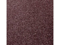 Carpet (damson, 24m²) - Brand New from Carpetright - free delivery