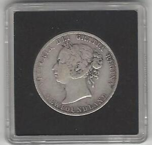 1894 Newfoundland 50 Cents Queen Victoria in Attractive Case