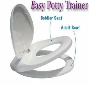 EASY POTTY TRAINER / Integrated adult -child toilet seat for easy toilet training NEW