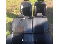 Half leather heated ep2 civic seats