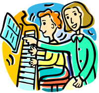 Piano or Keyboard Lessons for Children and Adults