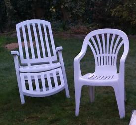 2 Garden chairs in good condition