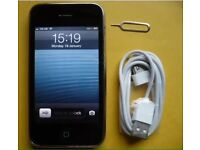 iPhone 3G on O2 Giffgaff and Tesco Good Condition Can Deliver
