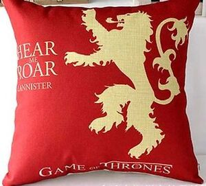 Brand New- Game of Thrones Decorative Pillow Covers Sarnia Sarnia Area image 5