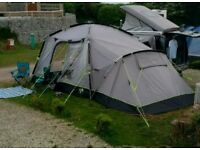 Khyam Quick Erect Motordome Sleeper 380 driveaway campervan awning