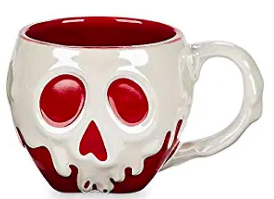 Disney Poisoned Apple Sculptured Mug Snow White and the Seve