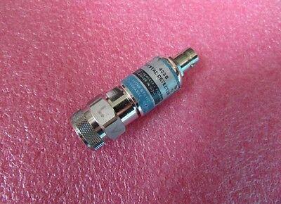 1pc HP/Agilent 423B 10MHz-12.4GHz RF Coaxial Detector