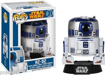 Star Wars POP! Vinyl Bobble Head R2-D2 10 cm figurine Funko n° 31