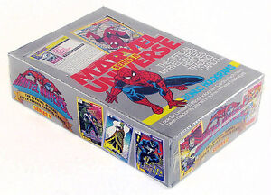 1991 MARVEL UNIVERSE SERIES2 Trading Cards SEALED BOX (36packs)