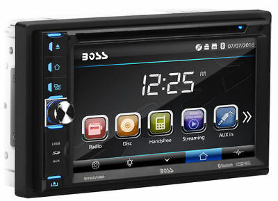 """Boss BV9371BD Double DIN Bluetooth DVD Car Stereo w/ Removable 6.2"""" Touchscreen"""
