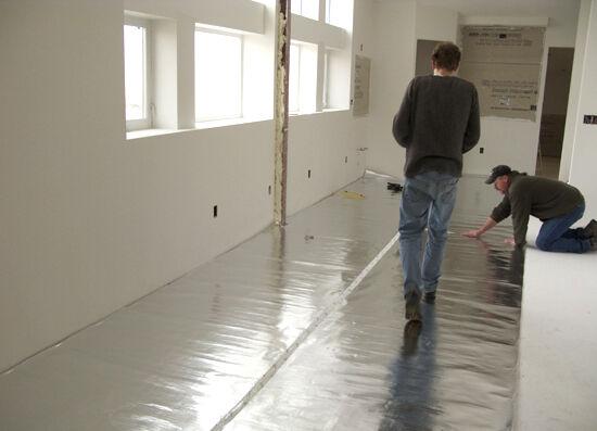1000 sqft Super Shield Reflective radiant flooring crawlspace Insulation