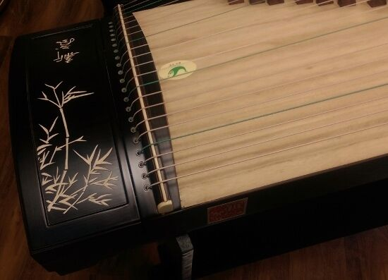 Tianyi Professional Blackwood Guzheng Musical Instrument