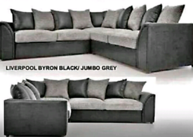 👌 BLACK AND GREY DYLAN SOFA FOR SALE