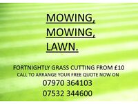 ★Fortnightly Grass Cutting starting from £10.00★