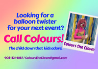 Need a balloon twister or face painting?