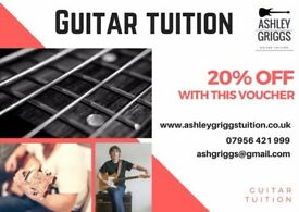 Guitar Tuition - friendly and professional