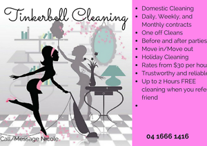 Tinkerbell Cleaning Scarborough Stirling Area Preview