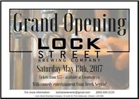 GRAND Opening - Lock Street Brewery