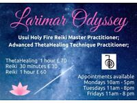 Larimar Odyssey - ThetaHealing Technique, Reiki & Crystal Therapy, to Relax & find INspiration