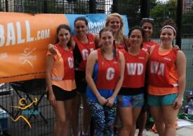 Ladies Recreational Netball League in Highbury