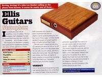 Ellis guitar stomp box as new