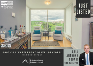 Stunning Bedford Condo, Waterfront Living at its Finest!