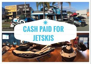 CASH PAID FOR JETSKIS Labrador Gold Coast City Preview