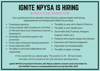 We are hiring an Executive Director!