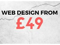 Website Design & Hosting From £49