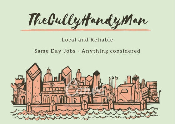 TheCullyhandyman - Local handyman - same day work and everything considered - Fast and reliable
