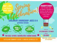 CHILDREN'S WORKSHOP: Ages 6-9 years