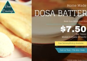 Home Made Dosa Batter - Free Delivery - Vancouver Burnaby