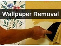 Wallpaper Stripping - Removal Services / Strip out your property service available