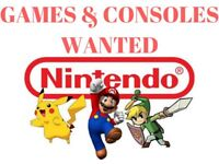 Wanted: Nintendo Games & Consoles
