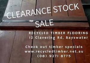 JARRAH FLOORBOARDS SALE (Re-milled and Recycled) Bayswater Bayswater Area Preview