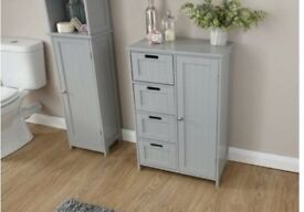 Bathroom cabinet and drawer units