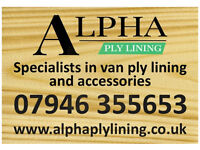 Ply lining kit all makes and models Vauxhall ford transit Renault Peugeot Citroen free fitting