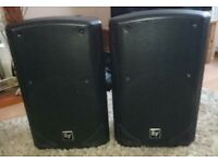 EV ZX5 Passive speakers, pair including stands, covers and speakon leads