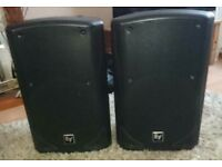 Electrovoice ZX5 passive PA speakers (pair) plus covers