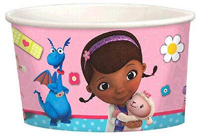 DOC MCSTUFFINS birthday party TREAT PAPER CUPS supplies 8pc Lambie Hallie Chilly](Doc Mcstuffins Cups)