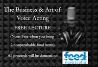 The Business and Art of Voice Acting