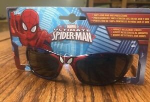Boys Kids MARVEL Spiderman Spider-man  Sunglasses 100% UVA And UVB Protection 2